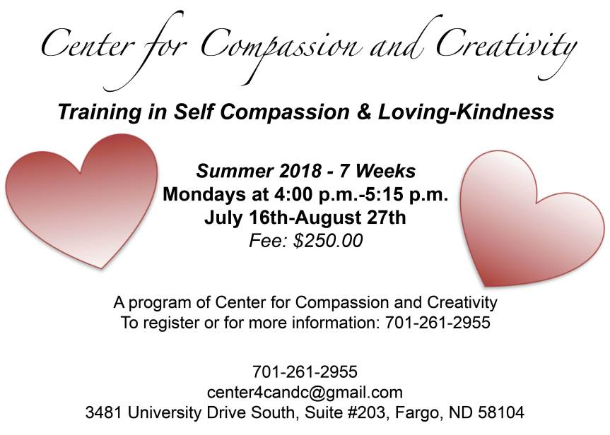 Training in Self Compassion & Loving-Kindness